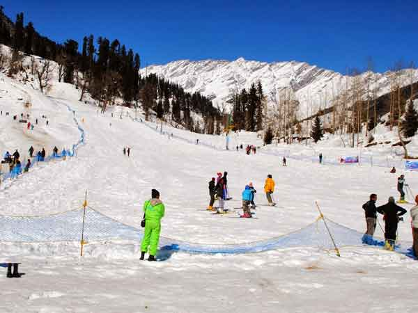 winter destinations india